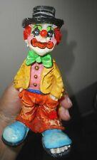 """""""Vagabond Attorney"""" ~Vintage Alvarez,  Mexico Clown B-16 Paper Mache Figure"""