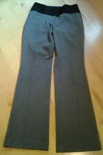 Express Editor womans gray black casual pants size 0R