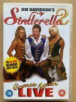 Jim Davidson Sinderella Viene Fornito di Nuovo DVD 2 IN Piedi Commedia Pantomima