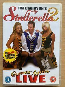 Jim Davidson Sinderella Comes Again DVD 2 Cinderella Stand-Up Comedy Pantomime