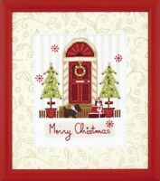 "New Cross Stitch Hand Embroidery Kit ""Merry Christmas"" by Charivna Mit"