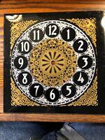 9 Inch Plastic Clock Dial Pan K910