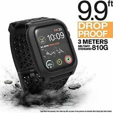 Catalyst - Impact Protection Case for Apple Watch™ 44mm - Stealth Black-series4