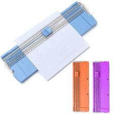 Hot Office Portable Paper Trimmer Photo Cutter Scrapbook Guillotine Random Color