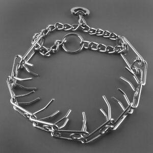 Martingale Dog Prong Collar Choke Chain Dog Training Necklace Heavy Duty Pitbull