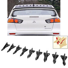 9x Wing V2 Vortex Generators Diffuser Shark Fin For Spoiler Roof  Windshield