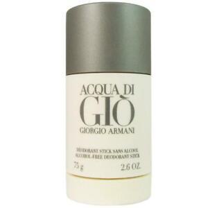 Aqua ACQUA DI GIO by Giorgio Armani Men 2.6oz Deodorant Stick NEW SEALED Perfume