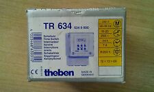 New Theben TR634 Time Switch 230v,24h,7d,R250h, 72x72x69