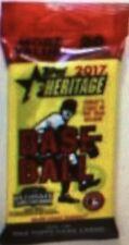 2017 TOPPS HERITAGE BASEBALL VALUE PACK CASE ( 108 Jumbo PACKS ) JUDGE Free s/h