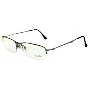 Ray-Ban Glasses Frames 8714 1159 Brushed Titanium