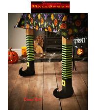 Halloween Bruja Tabla Pierna Cubre – Green