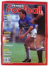 b)France Football du 10/05/1989; Victor/ OM-PSG/ Brésil, les indiens attaquent