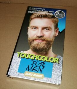 touch up Colour Dye for men Gel Moustache and Beard Natural medium sandy blonde