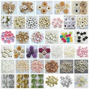 Handcrafted Floral Decorations - Handmade Card Making Embellishment Crafts