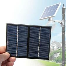1.5W 12V Solar Panel DIY Powered Models Small Cell Module Epoxy Charger #DH