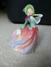 "New ListingRoyal Doulton Collectible Pretty Lady Figurine ""Autumn Breezes"", Hn1911"