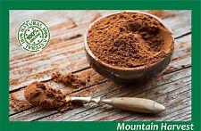 100% ORGANIC RAW CACAO POWDER (COCOA CHOCOLATE) 1 2 4 6 8 10 12 OZ