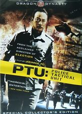 Johnnie To's PTU:POLICE TACTICAL UNIT (2003) Special Collector's Edition SEALED