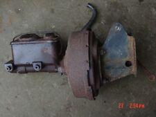 76-86 Jeep CJ power brake booster & brackets CJ5 CJ7 master cylinder brakes