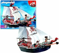 Playmobil 5950 Skull And Bones Pirate Ship Toy Red Black - NEW SEALED MINT BOX