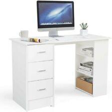 Homfa Schreibtisch Computertisch Büromöbel Tisch Arbeitstisch Kinderschreibtisch
