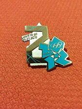 Juegos de Juegos Olímpicos de Londres 2012 Pin Insignia cuenta regresiva de 2 años para ir-Raro