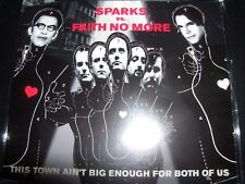 Sparks Vs. Faith No More ‎– This Town Ain't Big Enough For Both Of Us Aust CD Si
