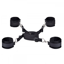 Under Bed Restraint Kit, Tetris Extra-Strength Strap with Wrist/Ankle Cuffs Bond