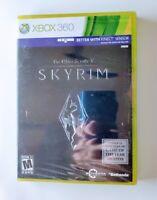 The Elder Scrolls V Skyrim Microsoft Xbox 360 Video Game Bethesda New Sealed