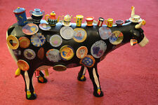 Ceramica, mucca, the Moo Potter, COW Parade, Houston 2001, Museo Edition, McCord