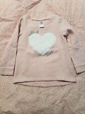 Carters Toddler Girl Fleece Lined Sweater 3t