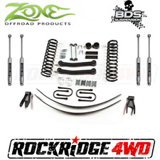 "Zone 4.5"" Suspension Lift Kit System Jeep Cherokee XJ 84-01 axle Dana 35 W/ NX2"