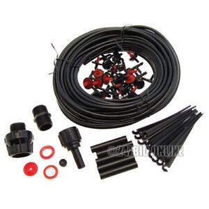 23M MICRO IRRIGATION WATERING KIT AUTOMATIC GARDEN PLANT GREENHOUSE WATER SYSTEM