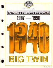 1987 & 1990 HARLEY-DAVIDSON 1340 MODELS PARTS CATALOG MANUAL -FLT-SOFTAIL-FXR