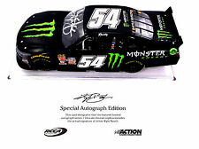 2015 KYLE BUSCH #54 AUTOGRAPHED MONSTER ENERGY XFINITY 1/24TH DIECAST