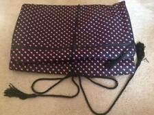 LUGGAGE Mary Kay Black Travel Roll Bag Makeup Jewelry SHOE Organizer Pink/BLACK