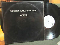EMERSON, LAKE & PALMER WORKS VOL.1 '77 ATLANTIC 2 LP SET double gatefold rare !!