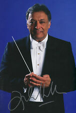 Zubin Mehta Conductor signed 8x12 inch photo autograph