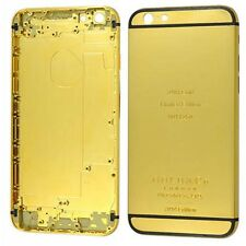 24K Gold Limited Edition Frame Plated Back Housing Cover for iPhone 6 6s 6 Plus
