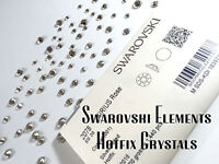 Genuine Swarovski Crystals Foiled Flat-Back Hot Fix 2038/ 2078 UK