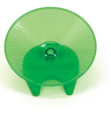 Hamster Flying Saucer Toy Activity Small Animal Pets Exercise Wheel Gift New