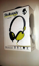 SKULLCANDY NAVIGATOR HEADPHONES WERE £79.99 BRAND NEW / SEALED  IN BOX L GREEN