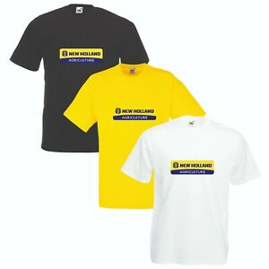 New Holland T-Shirt Tractor Enthusiast Farming VARIOUS SIZES & COLOURS