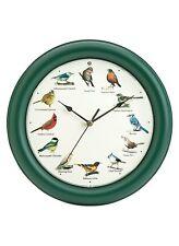 Mark Feldstein Original Singing Bird Clock, 10.7-Inch, New, Free Shipping