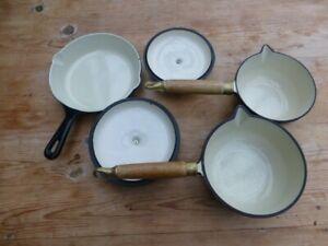 Not Le creuset cast iron pan set