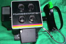 Polaroid Mini Portrait 402 CAMERA FLASH PASSFOTO Sofortbild Kamera 100 PAC Film