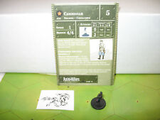 Axis & Allies 1939-1945 Commissar with card 17/60