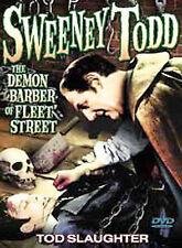 Sweeney Todd: The Demon Barber of Fleet Street NEW DVD