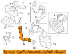 VW VOLKSWAGEN OEM Jetta Air Cleaner Intake-Intake Duct Tube Hose 1K0129618AJ