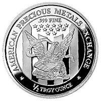APMEX 1/2 0,5 oz 999 Silver Silver Silver bullion Silver coin Gorgeous Rare
